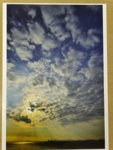 一般部門 【銀賞】 『雲と光のファンタジー』 ~ 中川支部 佐野 隆